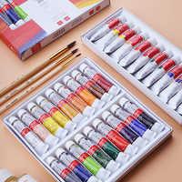 Winsor & Newton 12/18 Colori Professionale Set Pittura Ad Olio per Artista Pittura A Olio Disegno Vernice di Arte Forniture