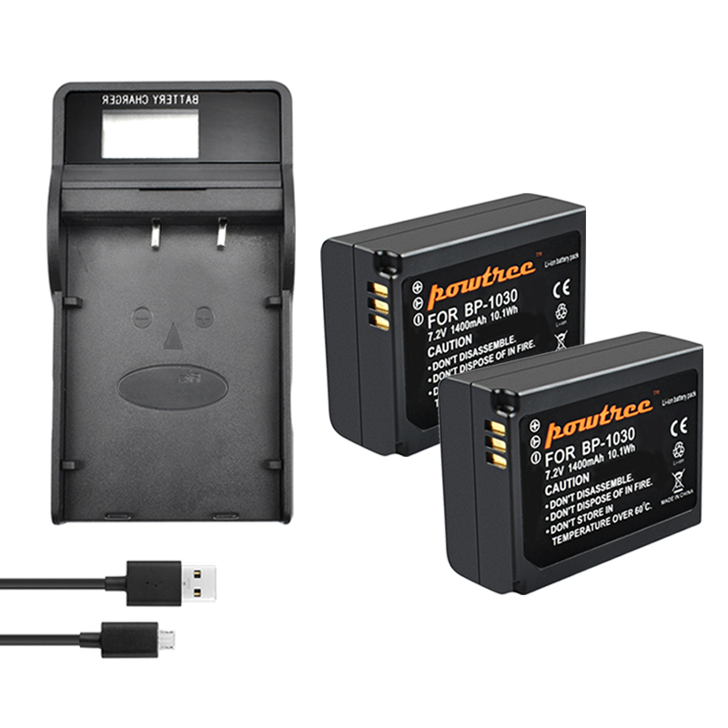 BP1030 BP-1030 BP-1130 Battery 7.2V 1400mAh+ Battery <font><b>charger</b></font> with LED for <font><b>SAMSUNG</b></font> NX200 NX210 NX300 NX500 <font><b>NX1000</b></font> NX1100 NX2000 image