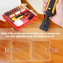 Kit professionnel de réparation de sol stratifié, système de cire, puces de boîtier robuste, ensemble d'outils de réparation des rayures