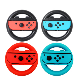 Image 4 - 2 PCS Switch Steering Wheel for Nintendo Game Handle Grip Controllers Direction Controller Joystick for Nintend Racing Games