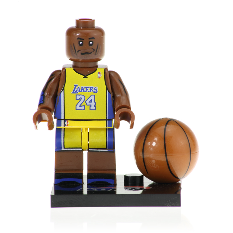 20Pcs  Building Blocks Sport Bryant American Professional Basketball Player Stephen Curry Figures Model Toys For Children KF457
