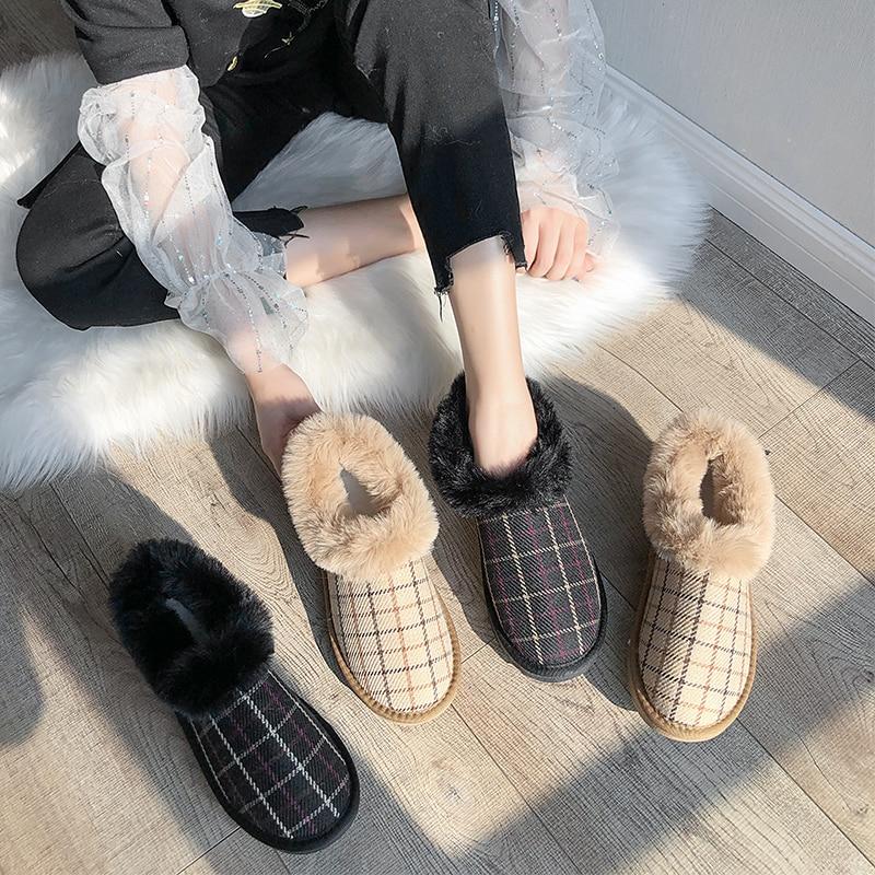 Bootee Woman 2019 Shoes Women Boots Winter Luxury Designer Booties Ladies Lace Up Low Heels booties Australia Round Toe Mid 27