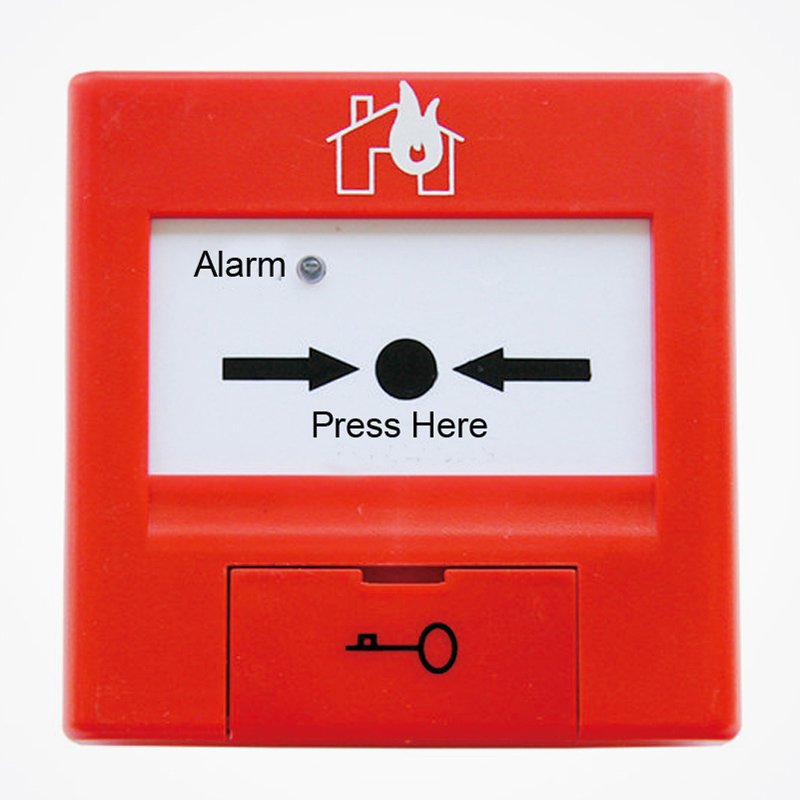 Addressable Manual Call Point TCSB5264 With LPCB  Fire Alarm Button Works With TC Addressable System With CE