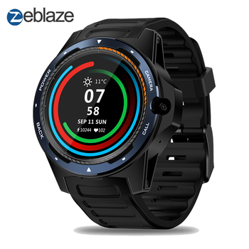 """Flagship THOR 5 Dual System Hybrid SmartWatch 1.39"""" AOMLED Screen 454*454px 2GB+16GB 8.0MP Front Camera Long standby Wristband"""
