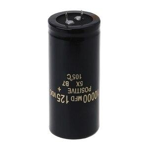 125V 10000 мкФ алюминиевый электролитический конденсатор может заменить 120V 100V Аудио 35x80mm