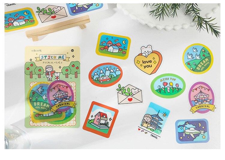 fotos decoração selo diy pvc adesivo
