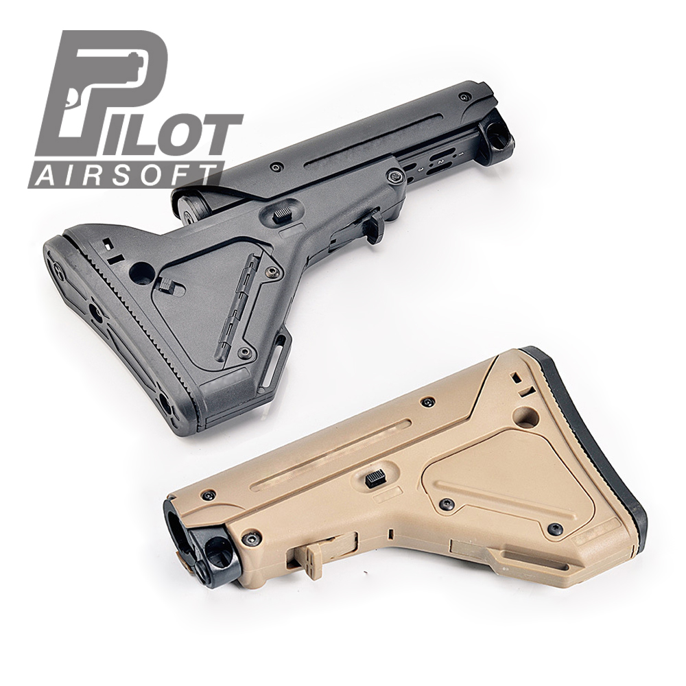 PILOT Tactical Stock M4 MK18 AEG Airsoft Hunting Accessories For PRS UBR CTR MFT F CAA ACS MOD Nerfly Retrofitted Accessories