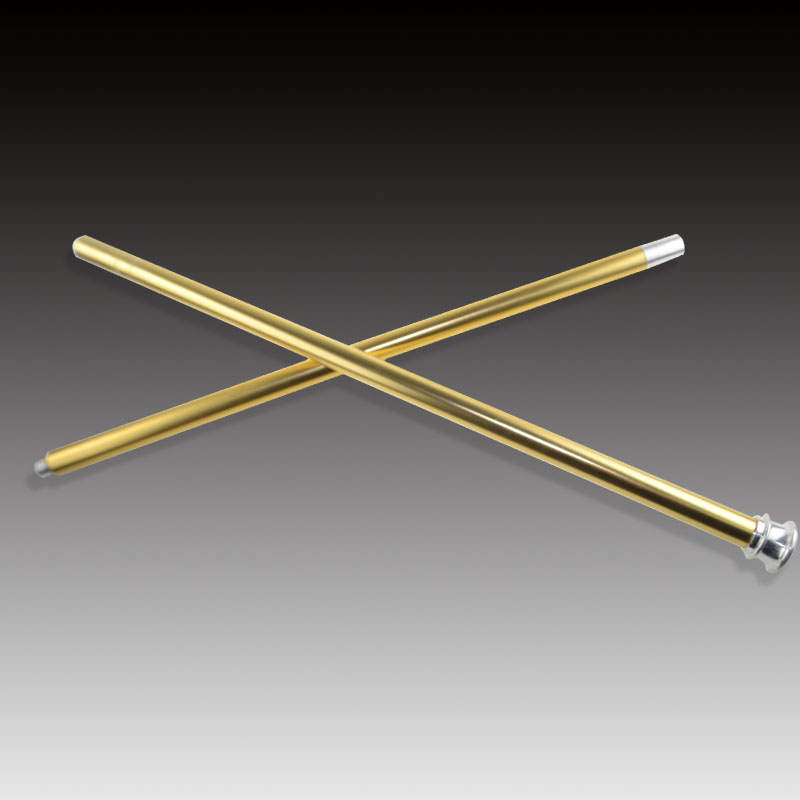 Golden Color Dancing Cane Aluminum Magic Tricks Funny Stage Floating Fly Magia Wand Illusion Gimmick Props Accessories Magicians