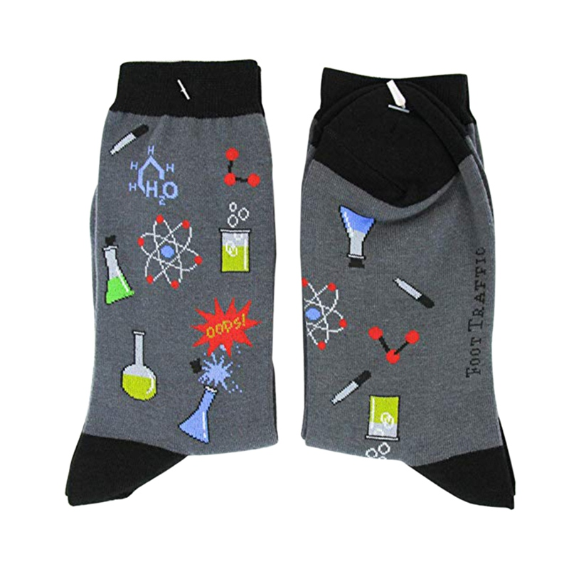 Leisure Casual Socks Women Education Themed Printed Female Sport Socks For Riding Walking Running Hosiery Footwear Accessories in Cycling Socks from Sports Entertainment