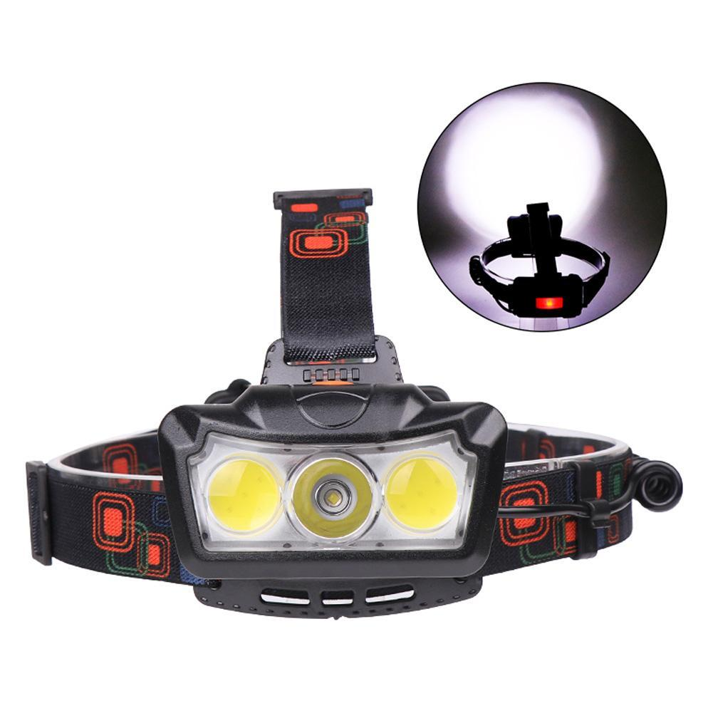USB Rechargeable LED Headlamp Headlight Head Lamp Flashlight Waterproof