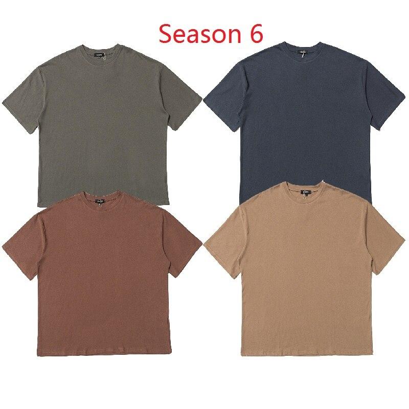 Season 6 KANYE WEST T Shirt Men Women Streetwear Xxxtentacion Summer T-shirt Harajuku Short Sleeves Top Tees Season 6 Tshirt