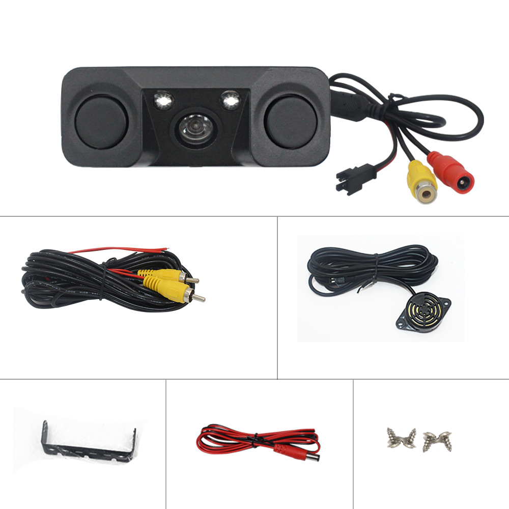 Car On Board Camera Rear View Reverse Image High-definition Waterproof AV Universal Monitor