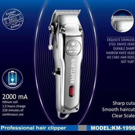All-metal Professional hair clipper electric hair trimmer for men haircutting machine hair cut compatible for moser barber