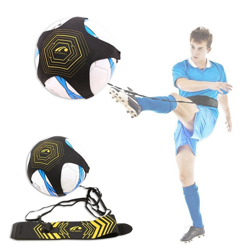 Soccer Football Kick Throw Trainer Solo Practice Training Adjustable Waist Belt Aid Control Skills Belts For Kids Player Fitness