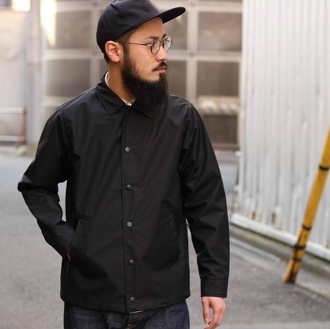 Spring American Style Black Coach Jacket Thin Loose Couple Jacket Male Plus Size Long Sleeve Top Men 2xl Button Coat Streetwear