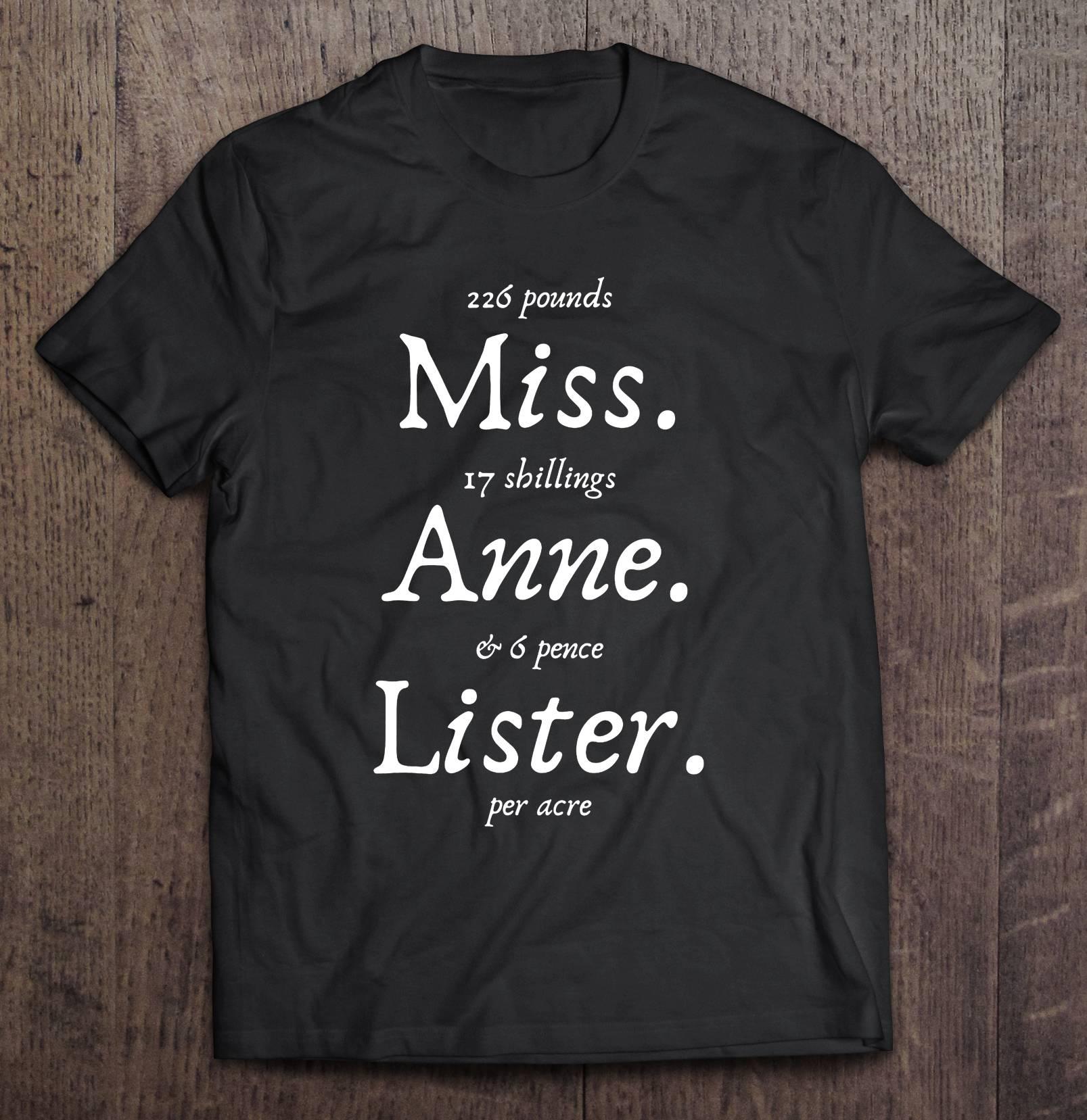 226 libras miss 17 shillings anne 6 pence lister por acre t-shirts