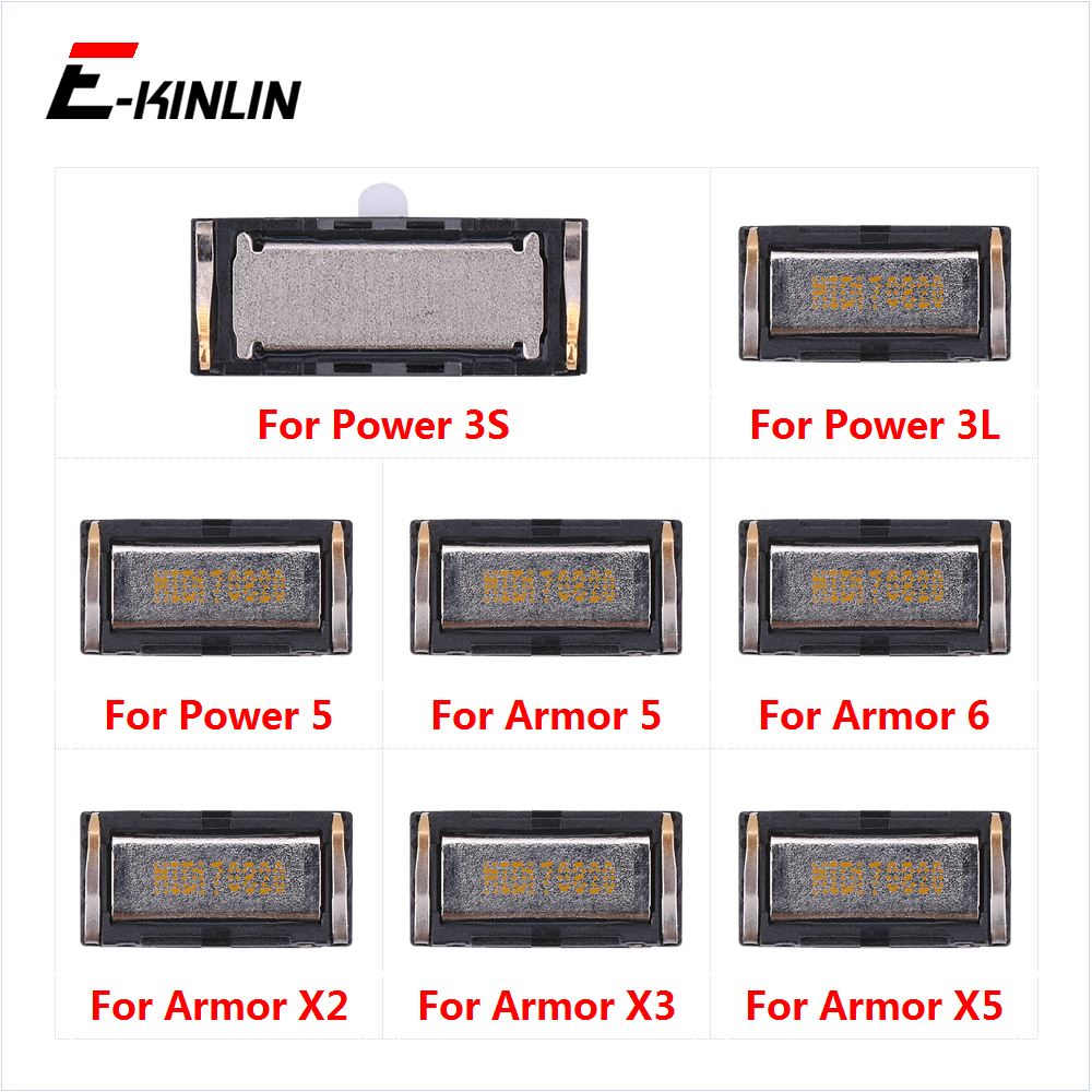 Earpiece Receiver Front Top Ear Speaker Repair Parts For Ulefone Power 3L 3S Armor 6 5 X5 X3 X2