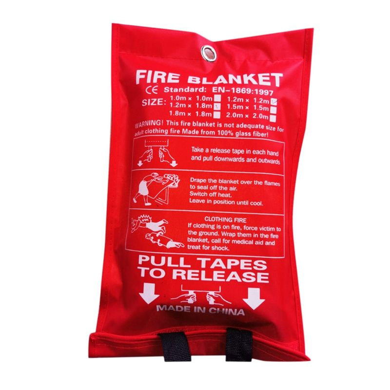 Fire blanket Fire-Extinguishing Blanket House Safety Fire Extinguisher Tent Marine Emergency Survival Shelter Safety Cover