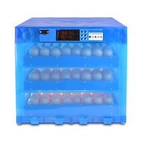 Warm Cubic Fully Automatic Chicken Duck Eggs Incubator China with Multi function roller egg tray 12V/220V Couveuse incubadora