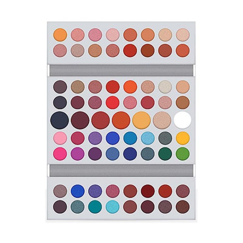 71 Colors Eye Shadow Palette Eye Shadow Make Up Pigments Easy To Wear Glitter Matte Eyeshadow Makeup Eyeshadow Powder
