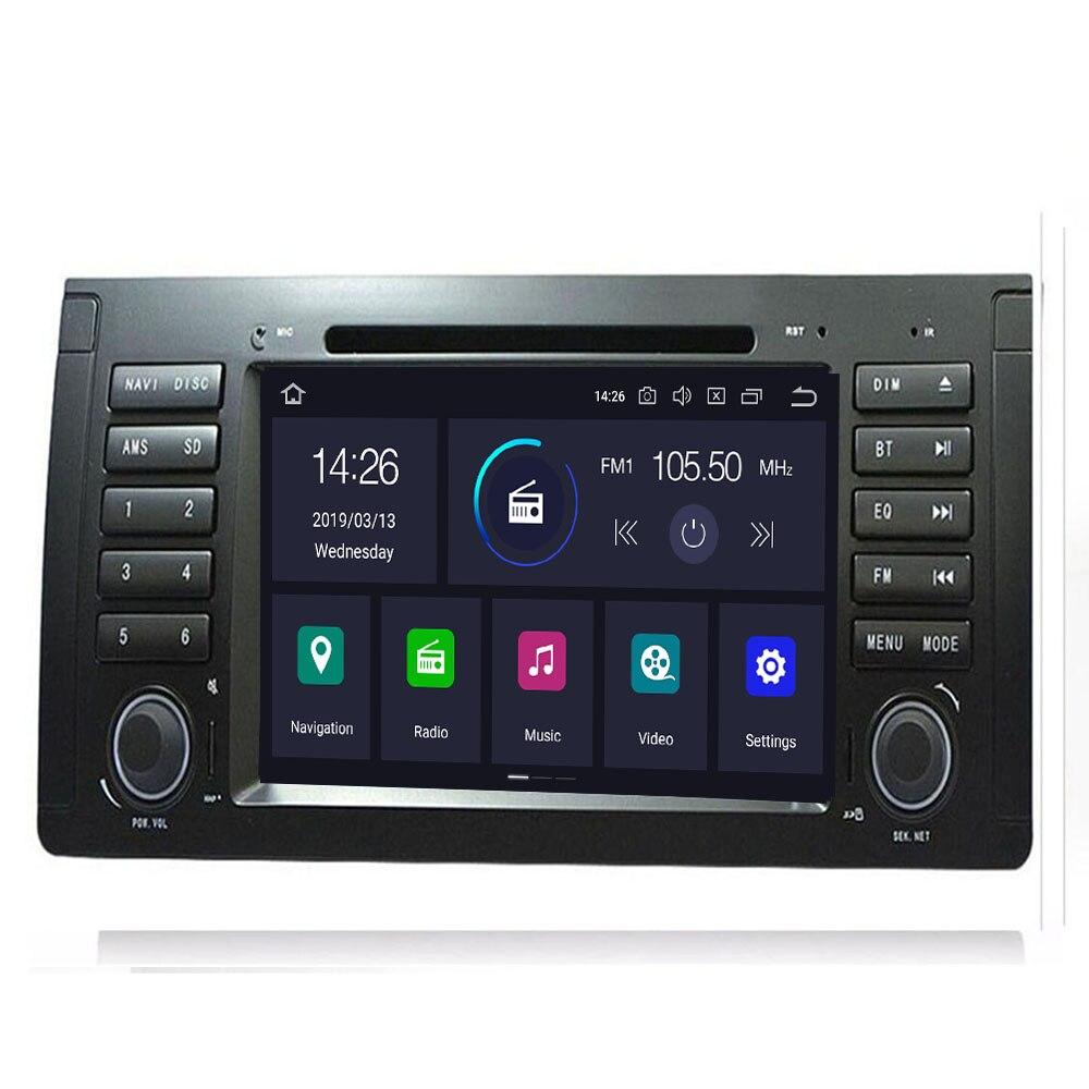 2din Android 9.0 lecteur DVD de voiture pour BMW X5 E53 E39 GPS stéréo Audio Navigation multimédia écran tête unité dvd automotivo 4 GB