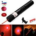 8000m Rot Laser Anblick Laser 303 Pointer Hohe Leistungsstarke Gerät Einstellbarer Fokus Lazer Laser Stift Kopf