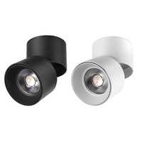 Surface Mounted LED Ceiling Lights 3W 5W 7W 12W 15W 18W 20W COB LED Down light Foldable 360° Rotatable LED Spot lights 220V 230V