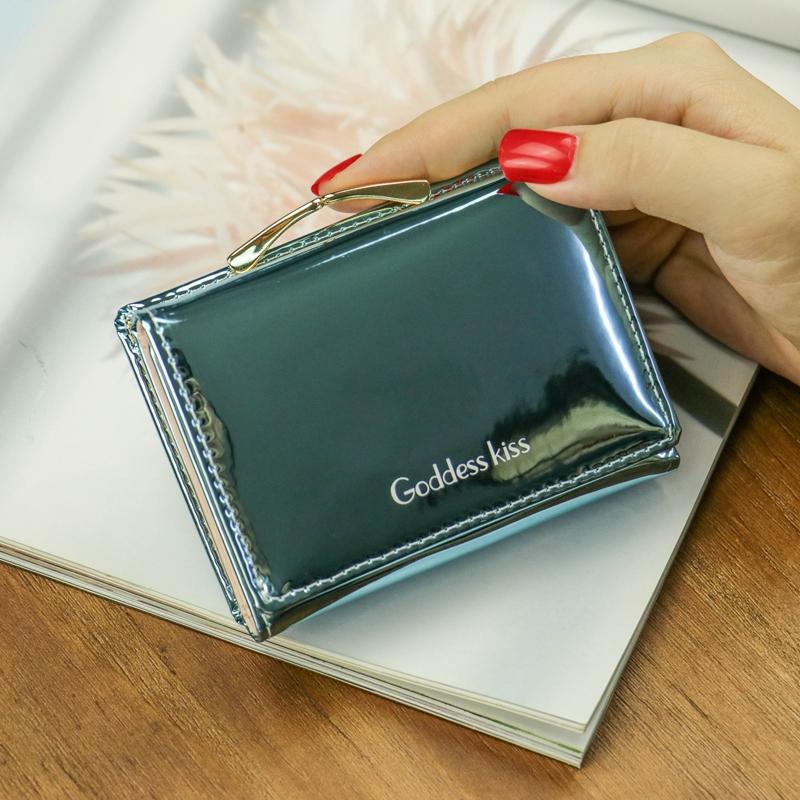 Новейший популярный женский короткий маленький кошелек для монет