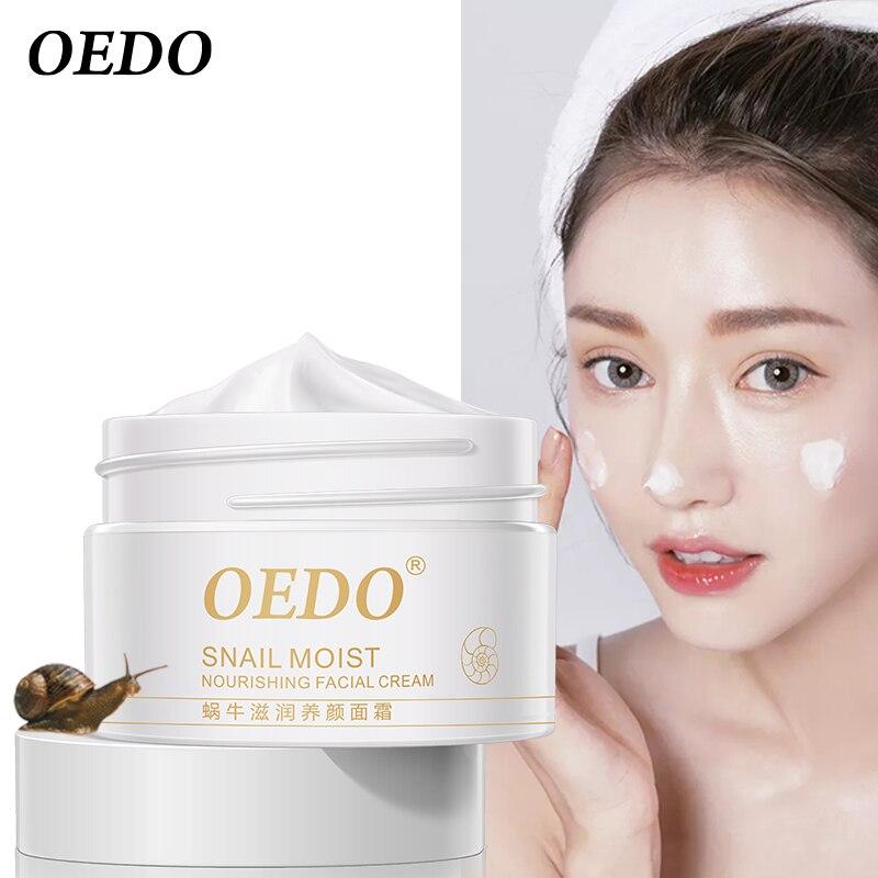 Snail Face Cream Collagen Anti-Wrinkle Whitening Facial Cream Hyaluronic Acid Moisturizing Anti-aging Nourishing Serum Skin Care-3