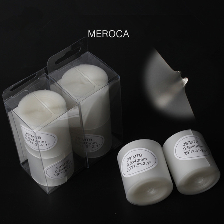 MEROCA Bicycle Tire Liner Anti-Puncture Proof MTB Road Mountain Bike 700c <font><b>26</b></font> 27.5 Inner Belt Tyre Protector Tape tire protector image