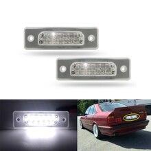 LED License Plate Number Lamp Signal Light for BMW E34 520 525 530 535 540 M5 1988-1996,for BMW E32 1986-1994 e34 520 525 528 530 540