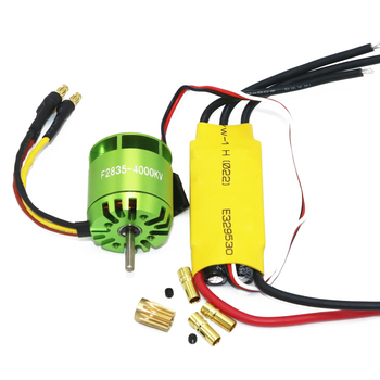 1set 4000KV Brushless Motor+XXD 30A ESC For Rc Quadcopter Multicopter TREX T-rex 450 RC Helicopter jmt 6 axis foldable rack rc quadcopter kit with qq super flight control 1000kv brushless motor 10x4 7 propeller 30a esc