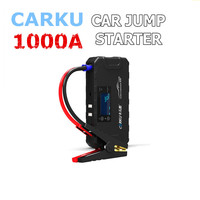 CARKU 1000A 16800mAh Car Jump Starter 12V LED Dual USB Emergency Power Bank Kit Car Battery Charger Battery Booster
