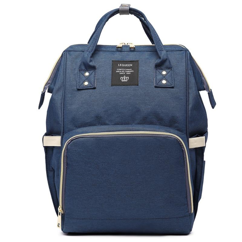 Diaper Bag Large Capacity Diaper Bag Upgraded Waterproof Fashion Backpack Multi-functional Diaper Bag Pregnant WOMEN'S Bag