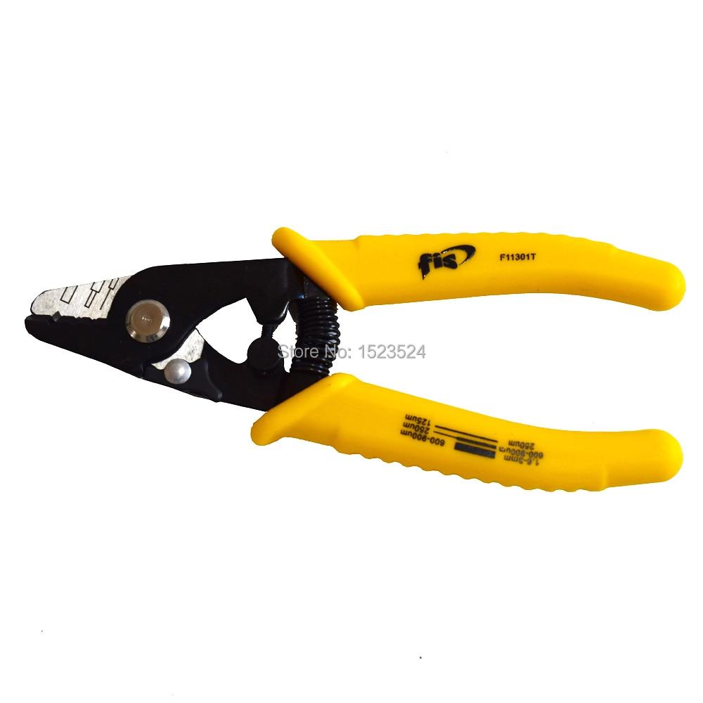 Free Shipping High Precision F11301T FIS Tri-Hole Fiber Optic Stripper 3 Hole Jacket Fiber Optic Strippers