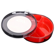 Outdoor Fishing Bait Bowl Multifunction Full Magnetic Lure Plate Drawing Tray Live Box Super Tackle Ac