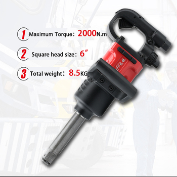 2000 N.M Air Impact Torque Wrench Heavy Duty Pneumatic Spanner Tool