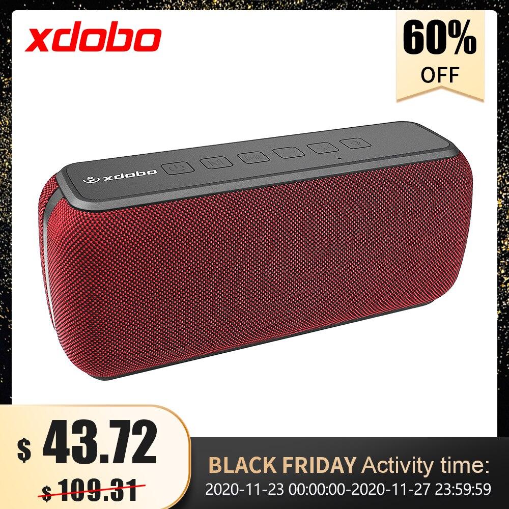 Hot DealsXDOBO Bluetooth-Speaker Voice-Assistant IPX5 Extra-Bass Waterproof Wireless TWS 60W 1