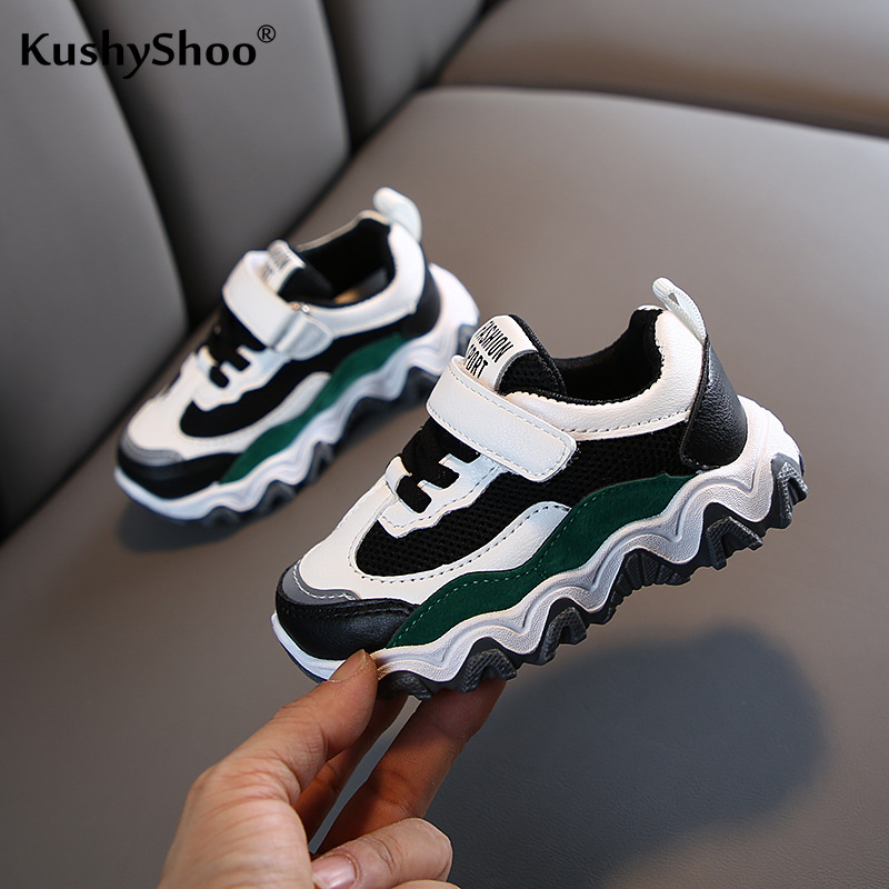 KushyShoo 2020 Spring Children Mesh Shoes Children Dad Shoes Korean Casual Baby Shoes Kids Shoes Boys Toddler Sneakers