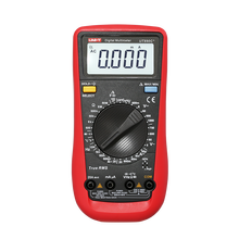 UNI T UT890C + มัลติมิเตอร์แบบดิจิตอล True RMS C/F อุณหภูมิ Capacitance ความถี่ MULTI Meter ไดโอด Tester