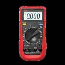 UNI-T ut890c + multímetro digital rms, verdadeiro, multímetro digital com medidor de temperatura de capacitância c/f, testador de diodo