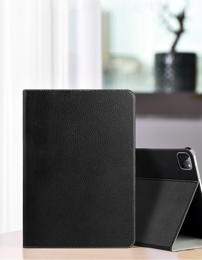 Hard A2459 For 1 IPad 2020 Shell A2301 Pro 2021 Leather Stand 11 Smart Case Support Back Genuine Gen 3 Funda 2 PC Cover Cowhide