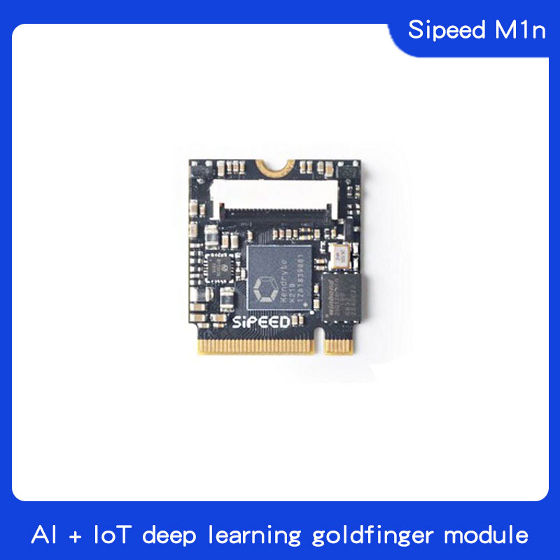 Sipeed M1n RISC-V AI+loT Deep Learning Gold Finger Module
