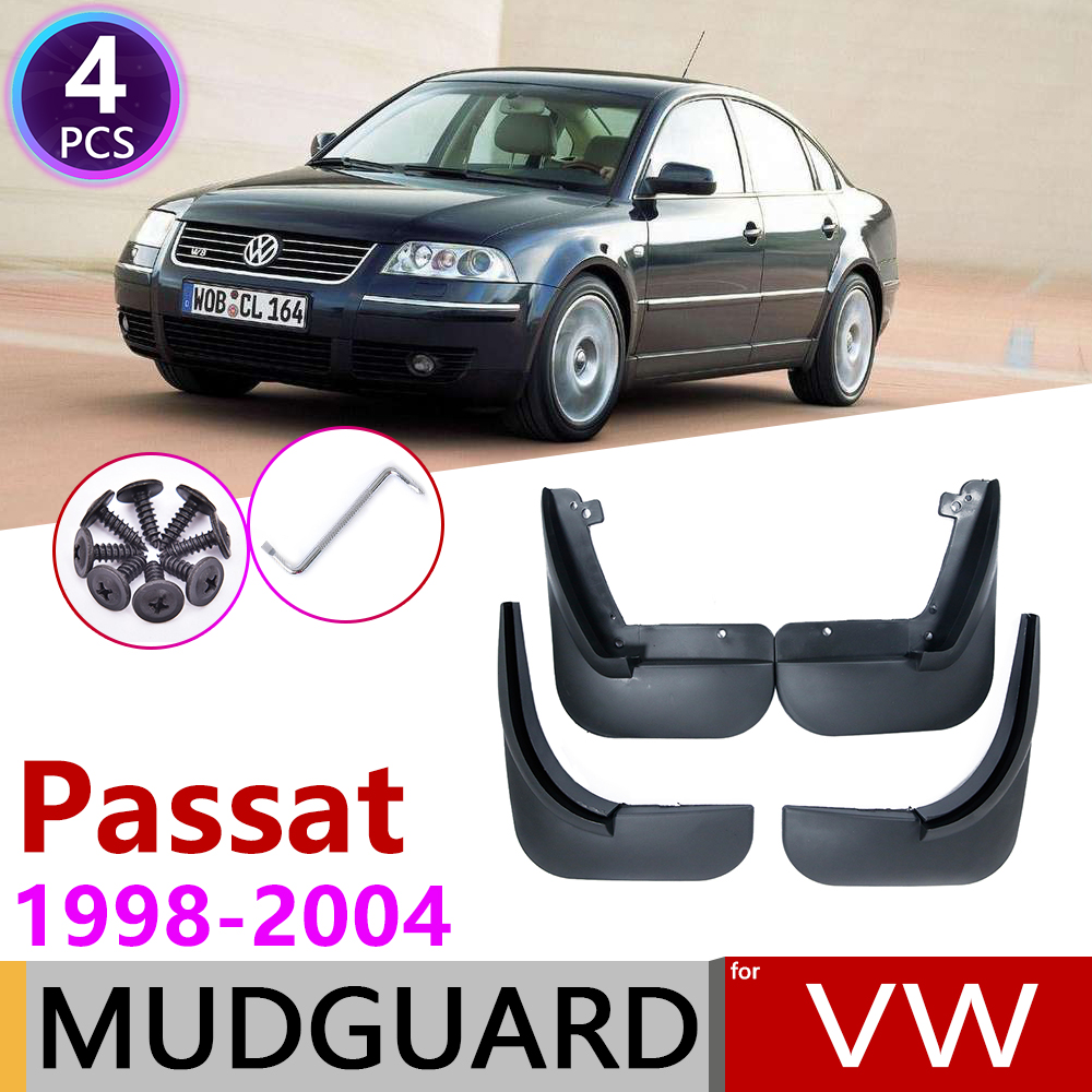For Volkswagen VW Passat B5 B5.5 1998~2004 Fender Mud Flaps Guard Splash Flap Mudguards Accessories 1999 2000 2001 2002 2003