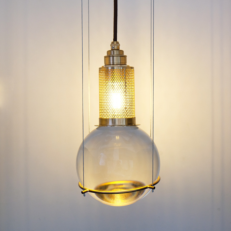 Nordic Lustre Pendente Deco Maison Glass  Restaurant  LED  Pendant Lights Bedroom Hanging Ceiling Lamps Luminaire Suspendu