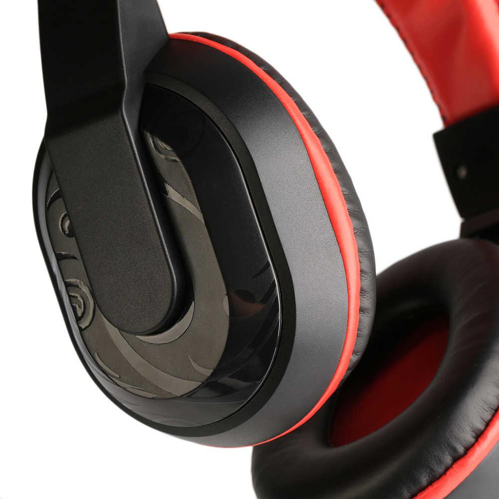 אופנה משחקי מוסיקה אוזניות סטריאו אוזניות Wired מחשב אוזניות עם מיקרופון