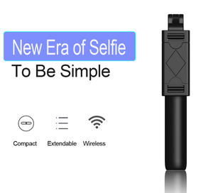 Image 4 - Remote Extendable Mini Tripod Wireless Bluetooth Selfie Stick for iphone/Android/Huawei 3 in 1Foldable Handheld Monopod Shutter