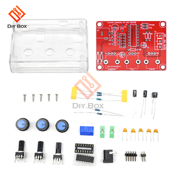 1HZ-1MHZ XR2206 Function Signal Generator DIY Kit Sine/Triangle/Square Output Signal Generator Adjustable Frequency Amplitude xr2206 signal function generator synthesizer dds frequency pwm pulse generator sine gerador de sinal adjustable module diy