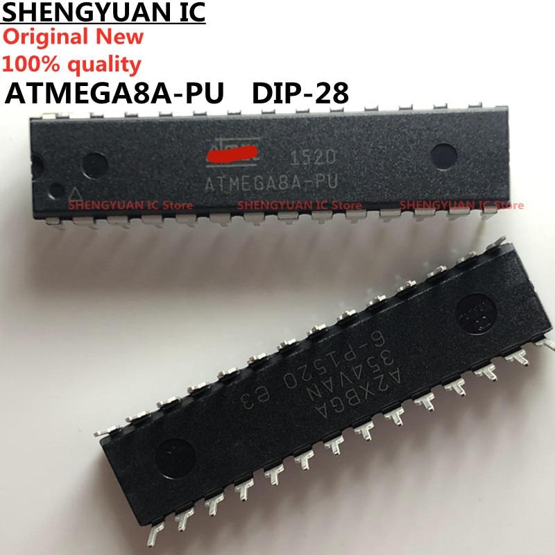 Для детей от 1 года до 5 лет шт./лот ATMEGA8A-PU DIP-28 ATMEGA8A 8-битный с 8 к байт в системы программируемый Flash 100% новая импортная оригинальная 100% качество