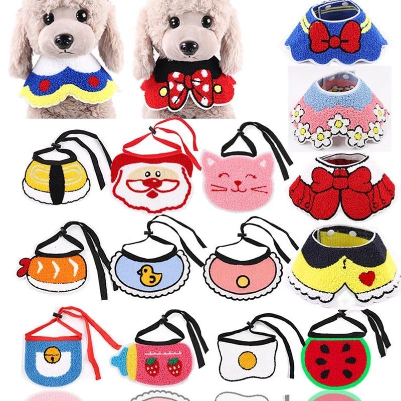 Pet Scarf Dog Accessories Home of the free land Red Dog Bandana Puppy bandana tie on summer bandana snaps on